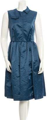 Marc by Marc Jacobs Sleeveless Midi Dress $145 thestylecure.com