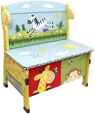 Fantasy Fields By Teamson Fantasy Fields by Teamson Sunny Safari Storage Bench