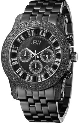 JBW Men's Krypton Stainless Steel & Diamond Watch. 48mm