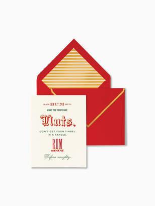 Kate Spade bah hum bug holiday card set