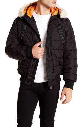 Hunter Faux Fur Trim Original Astro Bomber Jacket