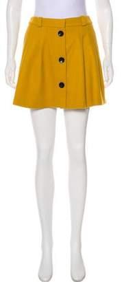 MAISON KITSUNÉ Wool & Cashmere Skirt