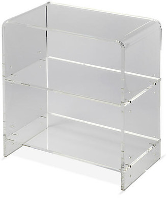 One Kings Lane Maben Acrylic Bookcase - Clear