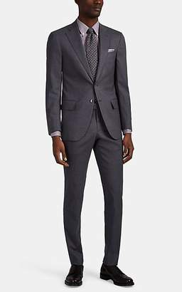 Isaia Men's Sanita Wool-Blend Two-Button Suit - Gray