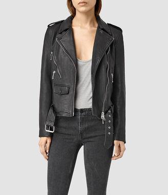 Rawley Leather Biker Jacket $620 thestylecure.com