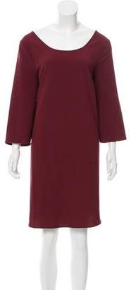 BB Dakota Scoop Neck Long Sleeve Dress