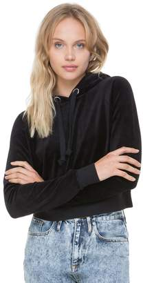 Juicy Couture Stretch Velour JCLA Hooded Pullover