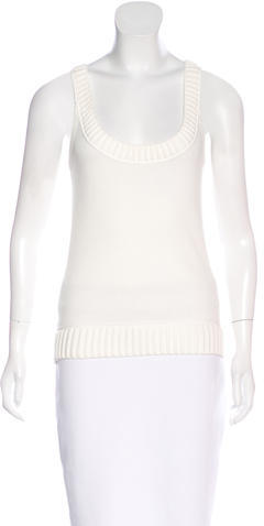 Miu Miu Miu Miu Sleeveless Knit Top