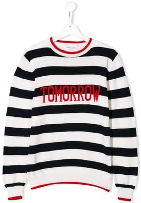 Alberta Ferretti Kids Tomorrow striped sweater