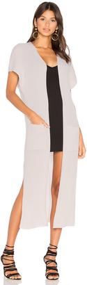 Autumn Cashmere Rib Maxi Vest $363 thestylecure.com
