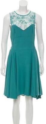 Elie Saab Sleeveless Knee-Length Dress w/ Tags