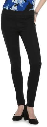 Elle Women's Pull-On Skinny Jeans