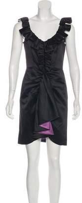 Milly Satin Sleeveless Dress
