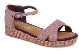 Toms Harper Wedge Sandal