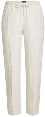 Joseph Linen and Silk Drawstring Pants