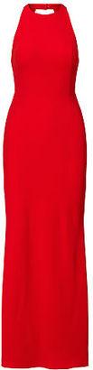 Ralph Lauren Lauren Cutout-Back Crepe Gown $230 thestylecure.com