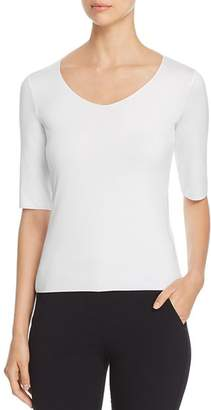 Emporio Armani Soft Scoop-Neck Tee