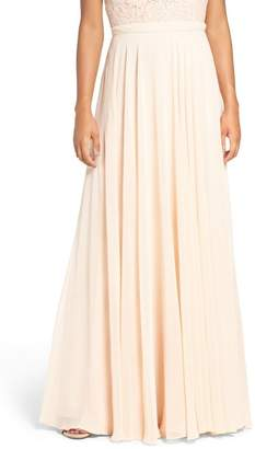 Jenny Yoo Collection Hampton Long A-Line Chiffon Skirt