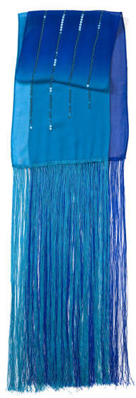 Scarf - Chiffon Ombre And Sequin