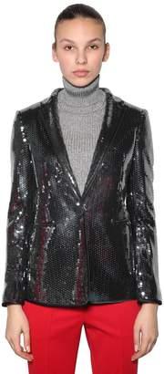 Marco De Vincenzo Sequined Blazer Jacket