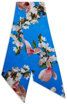 Ted Baker Ddaphne Harmony Floral Print Skinny Scarf