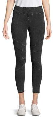 Andrew Marc Performance Washed Cropped Leggings