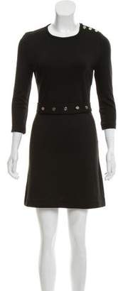 Tory Burch Long Sleeve Mini Dress