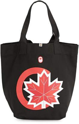 Canadian Olympic Team Collection Maple Leaf Canvas Tote