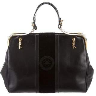 Roberta Di Camerino Leather Frame Bag