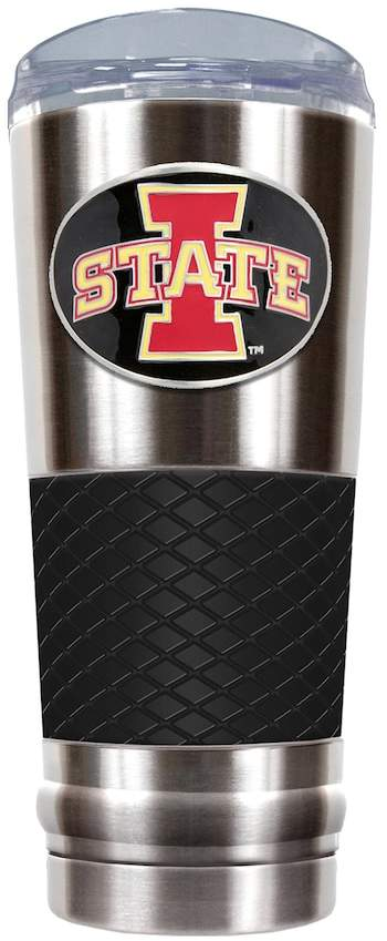 NCAA Iowa State Cyclones 24-Ounce Draft Stainless Steel Tumbler