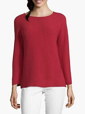 Betty Barclay Textured Jumper, Scarlet Red