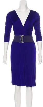 Philosophy di Alberta Ferretti Long Sleeve Midi Dress