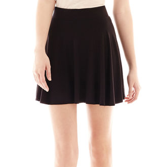 Decree Knit Skater Skirt $9.99 thestylecure.com