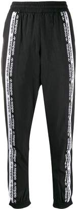 adidas logo band track trousers