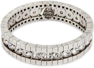 Philippe Audibert 'Lili' Swarovski crystal stretch bracelet