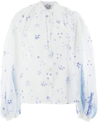 Thierry Colson floral blouse
