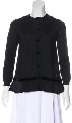 Moncler Wool Knit Cardigan