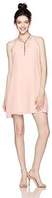 As U Wish Junior's Necklace Trapeze Dress