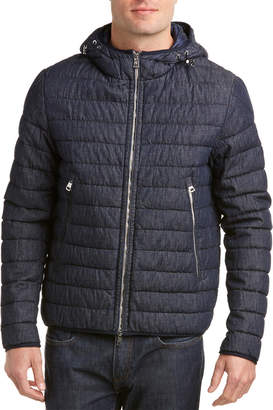 Moncler Denim Padded Jacket