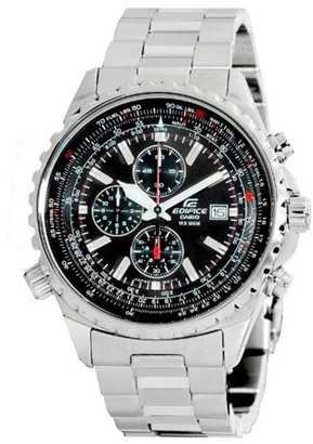 Casio Men's Edifice Stainless Steel Multi-Function Watch