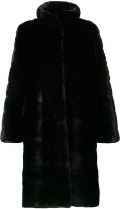 Liska high-collar coat