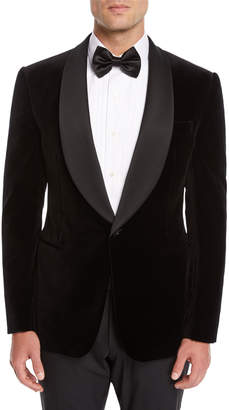 Ralph Lauren Men's Shawl-Collar Velvet Tuxedo Jacket