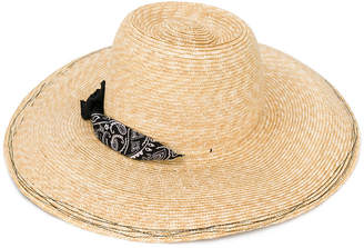 Lola Hats bandana detail hat