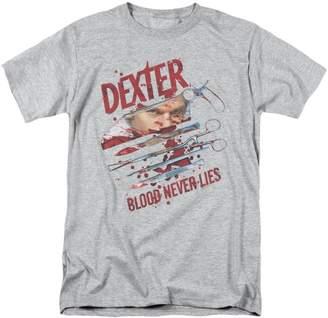Dexter Blood Never Lies Showtime TV Show T-Shirt Tee