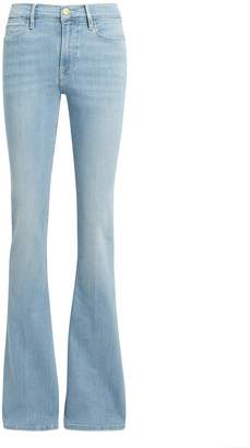 Frame Le High Swiss Alps Flare Jeans