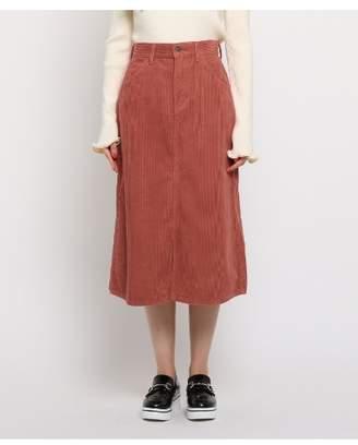 aquagirl (アクアガール) - エージー バイ アクアガール [コラボアイテム]Lee(リー) コーデュロイスカート