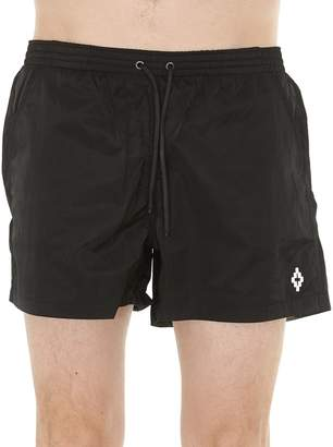 Marcelo Burlon County of Milan Cross Beach Shorts