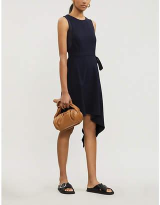 Claudie Pierlot Rasalia asymmetric-hem woven dress