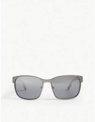 Prada Linea Rossa PS 52Ts Linea Rossa square-frame acetate sunglasses