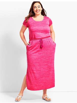 Talbots Soft Drape Jersey Maxi Dress